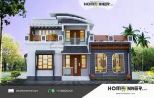 Home Design For Plot 1678 Sqft Attractive 3 Bhk Villa Design For Small Plot