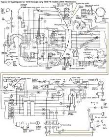 sch 233 233 lectrique des harley davidson big wiring diagrams for h d big