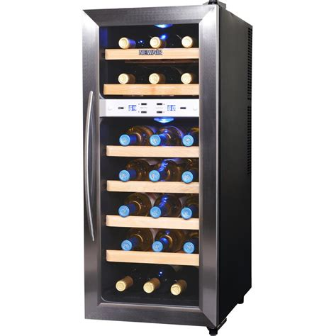 newair 21 bottle thermoelectric wine cooler aw 211ed the