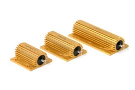 what is a heating resistor 100 watts aluminium housed resistor heat sink resistor arcol resistors