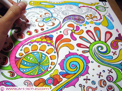 painting adults free free abstract coloring page to print detailed
