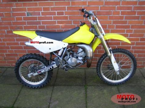 2003 Suzuki Rm85 Suzuki Rm 85 2003 Specs And Photos