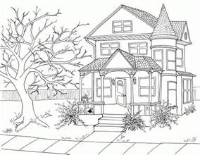 how to color a house haunted house drawing matt dye draws happy halloween