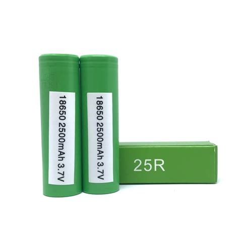 samsung 18650 25r 2500mah battery flat top craving vapor