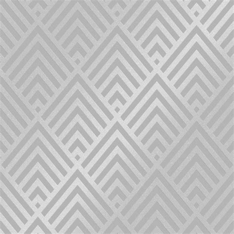 henderson interiors shard glitter geometric wallpaper grey
