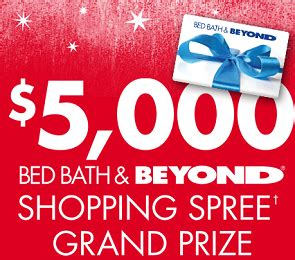 Instant Win Sweepstakes And Giveaways - bed bath beyond holiday prizes sweepstakes instant win game