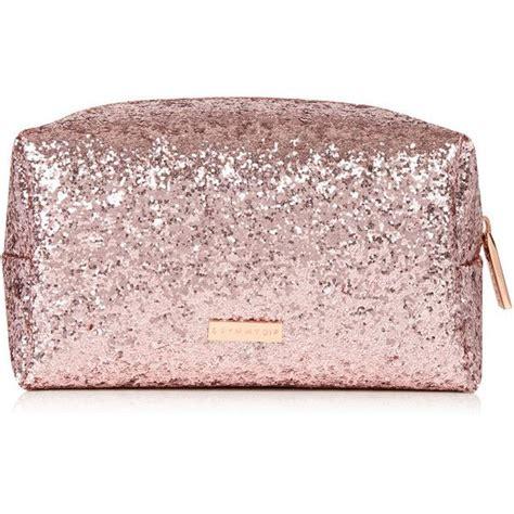 Lalang Cosmetic Makeup Bag Gold gold dita make up bag 15 liked on polyvore