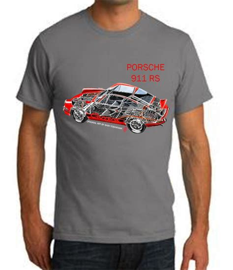 Porsche T Shirts 911 International T Shirts Gallery 2