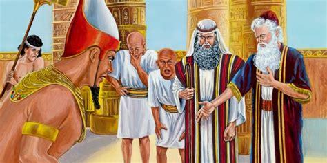 imagenes biblicas moises mois 233 s y aar 243 n ven a fara 243 n biblioteca en l 205 nea watchtower