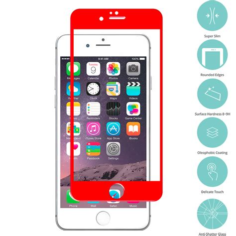 Tempered Glass Iphone 6 6s Screen Guard Warna Color Nano Slim Premium for apple iphone 6 6s 4 7 tempered glass screen protector ebay