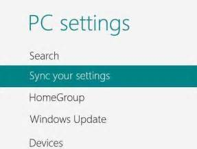 How to sync windows id profile settings on any windows 8 devices