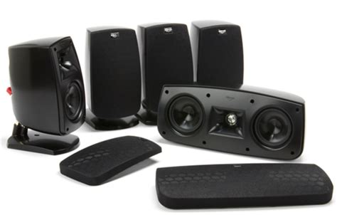 klipsch quintet 5 0 home theater speaker system review