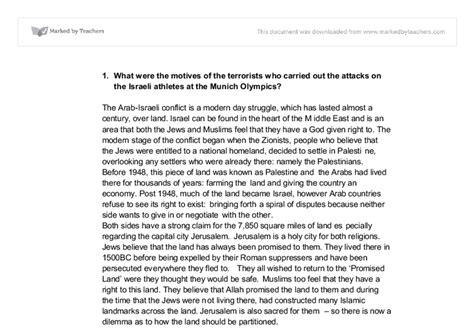 Israeli Palestinian Conflict Essay by Israeli Palestinian Conflict Essay