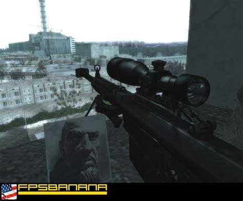 Call Of Duty 50 black barrett 50 cal call of duty 4 modern warfare skin