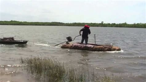 layout boat hunting texas image gallery decoy sled