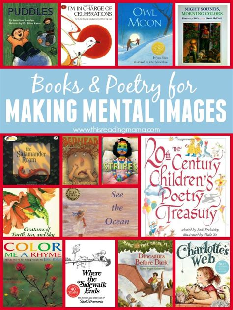 picture books for visualizing texts for mental images