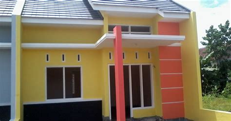 kombinasi warna kuning  cat rumah  top