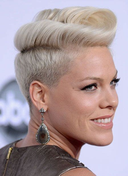 is there another word for pompadour hairstyle as my hairdresser dont no what it is 39 best p nk images on pinterest pink singer quotes