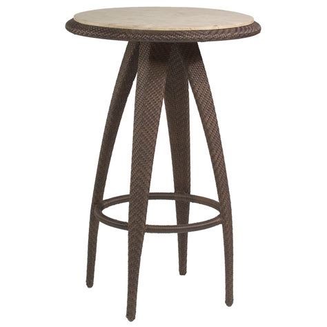 Wicker Bar Table Whitecraft By Woodard Bali Wicker 27 Quot Bar Table Wicker