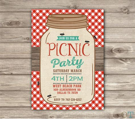 picnic park party mason jar beach bbq family reunion