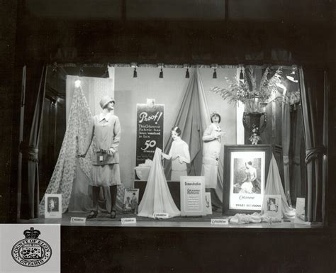 store window display andersons department store 1896 1989