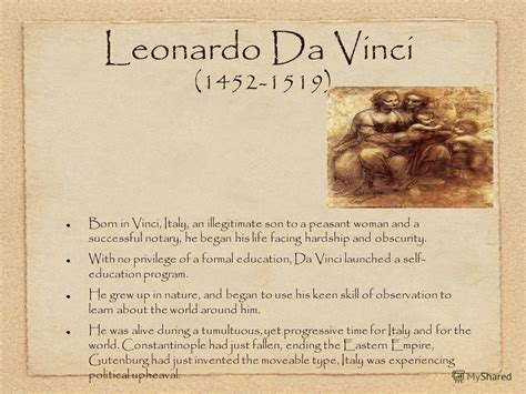 Leonardo Da Vinci Essay by Leonardo Da Vinci Biography Essay The Most Important Renaissance Artists And Turtles