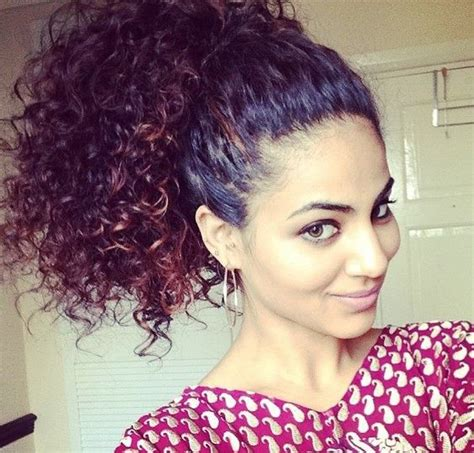 curly hairstyles in a ponytail 25 hot high ponytail hairstyles 2017 hairstyle guru