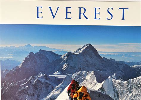 film everest di xxi signed quot 1996 everest film expedition quot mounted poster ebth