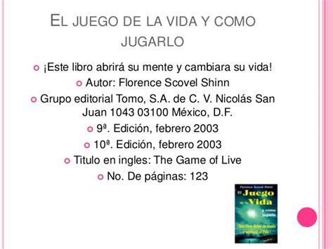 el juego de la vida y como jugarlo saber mas spanish edition ebook el juego de la vida y como jugarlo itzel