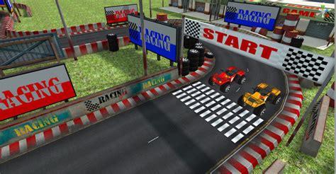 Track Racing Arena Jalanan Track 2 Jalanan 3d model racing track cgtrader