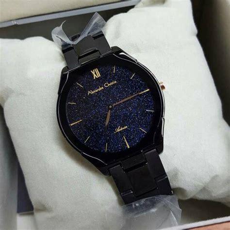 Grosiran Jam Tangan Alexandre Christie 8517 Original jual jam tangan wanita alexandre christie ac8517 classic design original black gold di