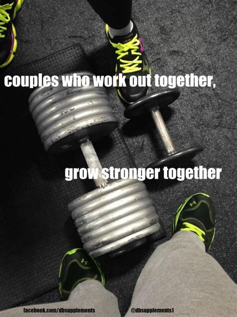 Fit Couple Meme - fitness quotes dbsupplements com couples workout feel