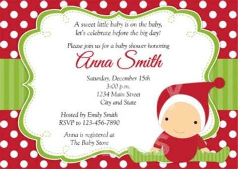 Baby Welcome Home Decoration christmas baby shower invitations baby shower for parents