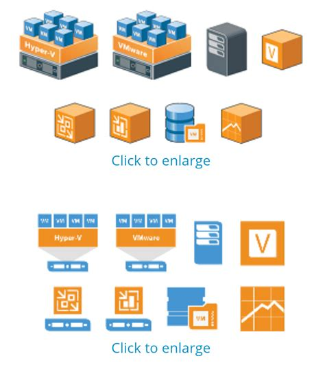 vmware icons for visio vmware visio symbol