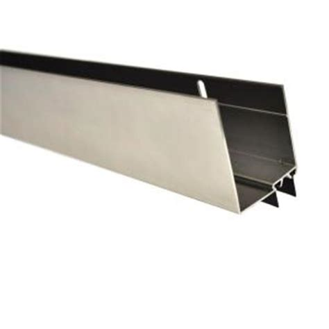 andersen door bottom sweep replacement andersen 36 in nickel door sweep for 1 5 in door
