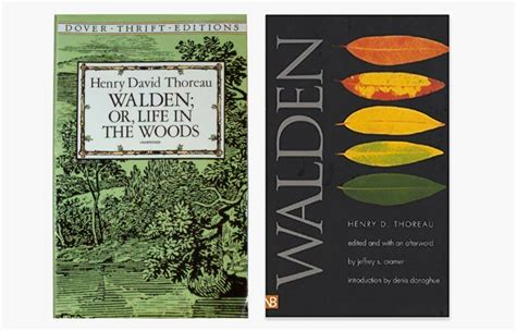is walden a book or essay walden or a with the book design observer
