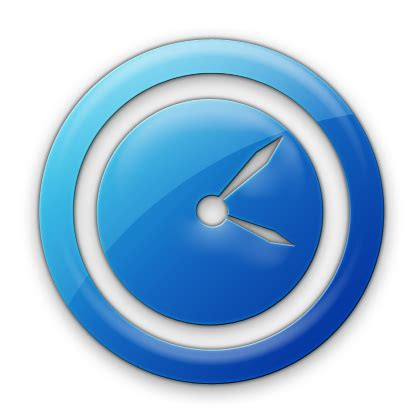 Time Blue by Image 078468 Blue Jelly Icon Business Clock2 Png Tiny