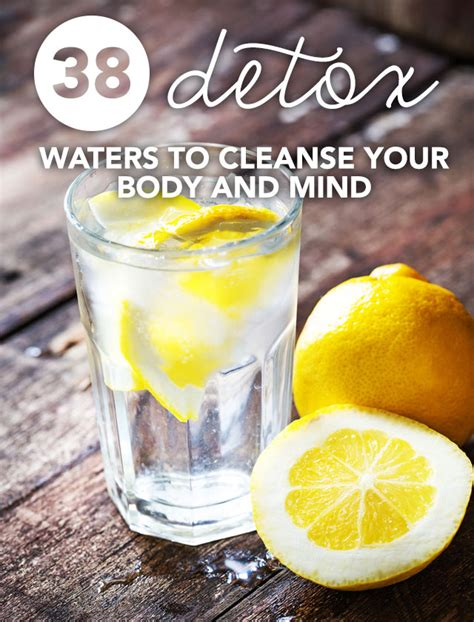 How Much Water To Drink During Detox by 38 Detox Waters To Cleanse Your And Mind Detox Diy