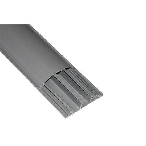 passacavi pavimento canalina bombata passacavi da pavimento pvc 75x20 con