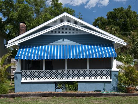 houses with awnings how retractable awnings add value comfort to your home