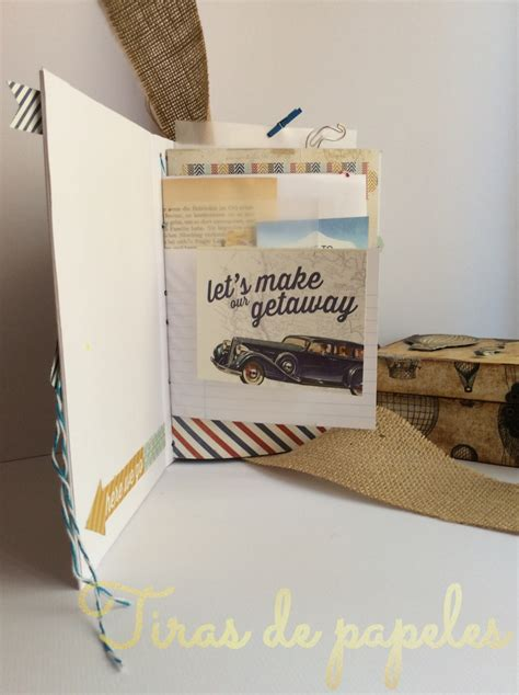tutorial iniciacion scrapbooking tutorial para hacer tu propio travel book un mini album