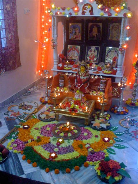 Pooja Decorations At Home | pooja decorations
