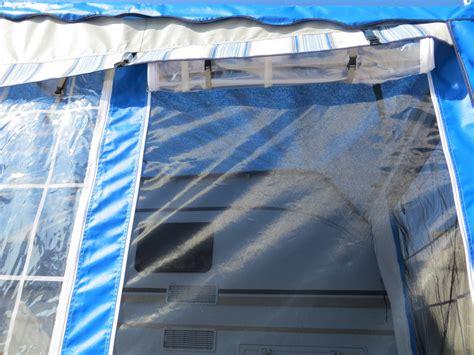 verande per caravan come montare la veranda della caravan