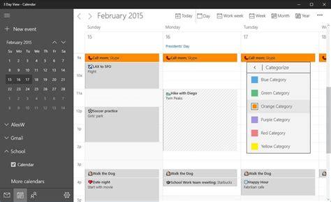 Calendar Update Announcing Updates To Windows 10 Mail Calendar Apps