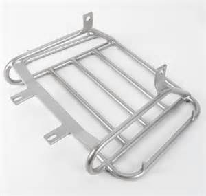 Universal Motorcycle Rack by Universal Motorcycle Luggage Tour Trunk Rack