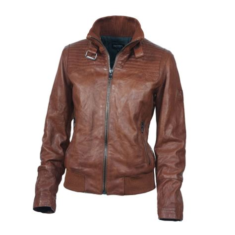 Jaket Semi Kulit Wanita Simple Rib jaket kulit wanita distro line