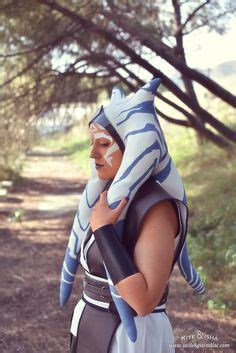 latex headpiece tutorial ahsoka tano costumes and search on pinterest