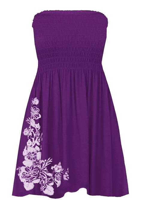 Print Bandeau Mini Dress new womens floral glitter print bandeau boobtube sheering