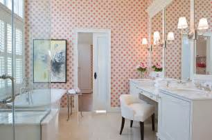 Bathroom Wallpaper Designs feminine bathrooms ideas decor design inspirations