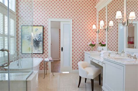 girly bathroom feminine bathrooms ideas decor design inspirations